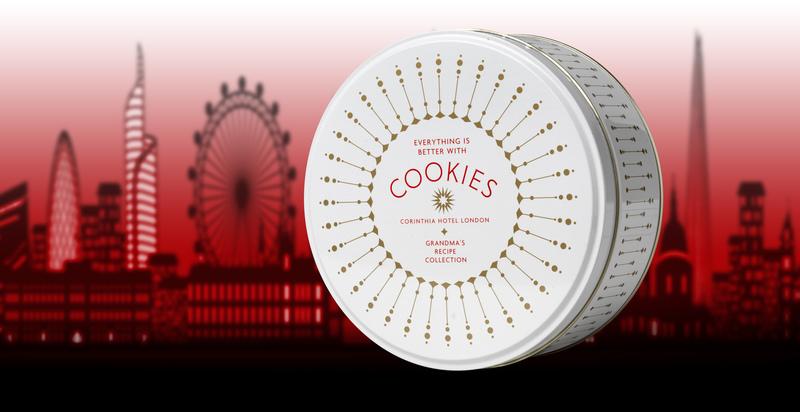Corinthia Hotel 'Grandma's recipe' cookies