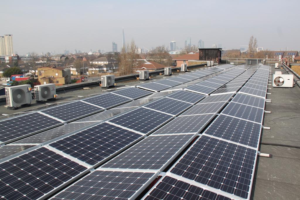 Solar farm at William Say