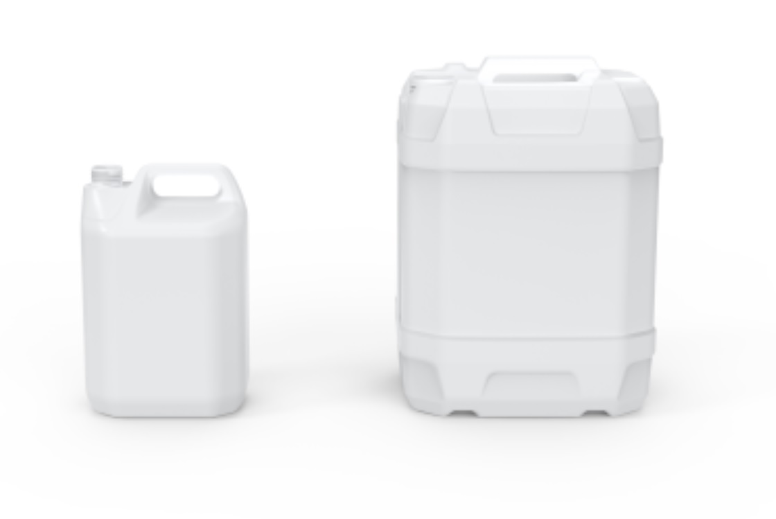 Exclusiveindustrial PCR plastic packaging now available from P. Wilkinson Containers